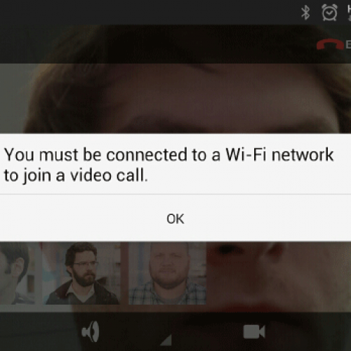 AT&T: we plan to enable pre-loaded video chat apps over cellular for all our customers