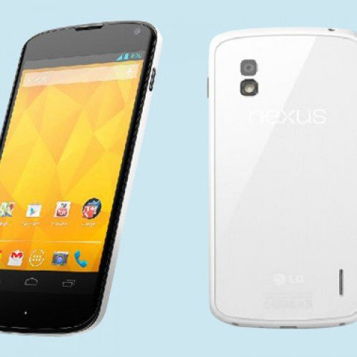 LG announces LG Nexus 4 White for coming weeks