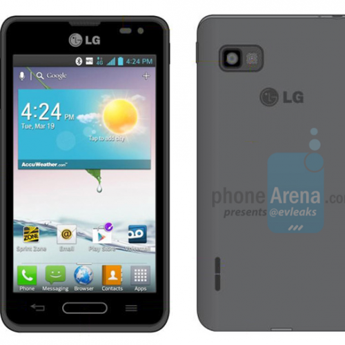 Budget-end LG Optimus F3 and high-end LG Optimus G Pro pictured for Sprint