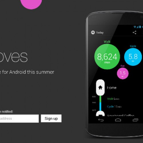 Moves for Android to be released this summer