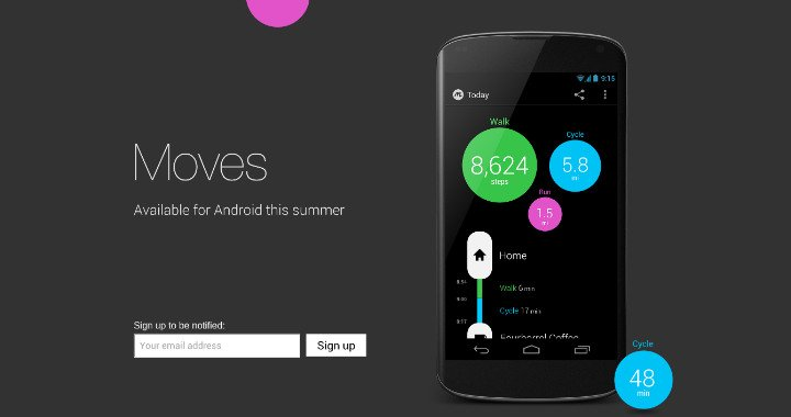 Moves App Android