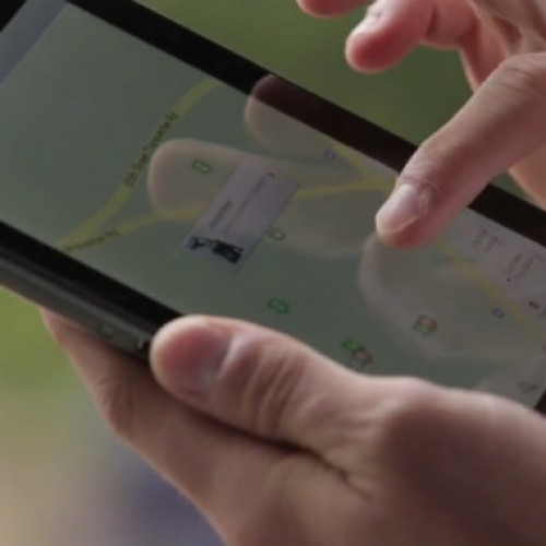 Is that a new Nexus 7 in the Google Maps video?