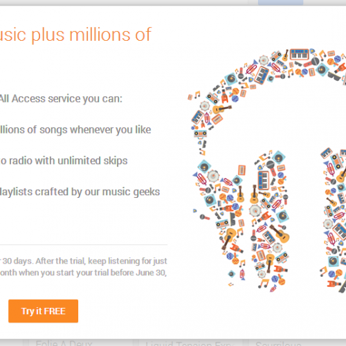 Possible Spotify killer Google Play Music All Access revealed, start your trial now