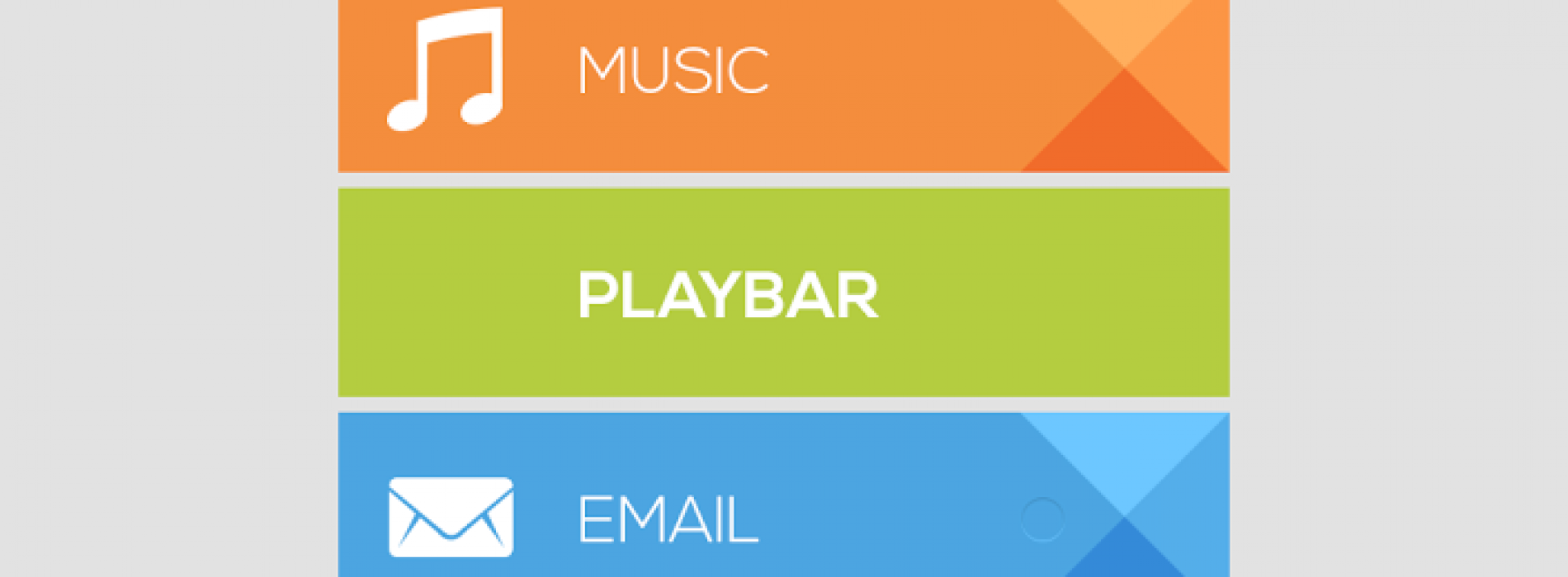 Add a bit of Google Play design to your homescreen with PlayBar UCCW