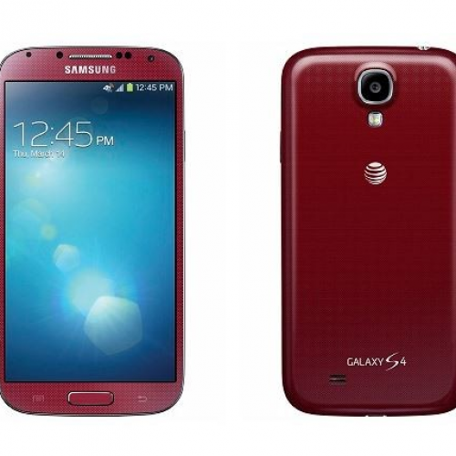 'Aurora red' Galaxy S4 coming exclusively to AT&T