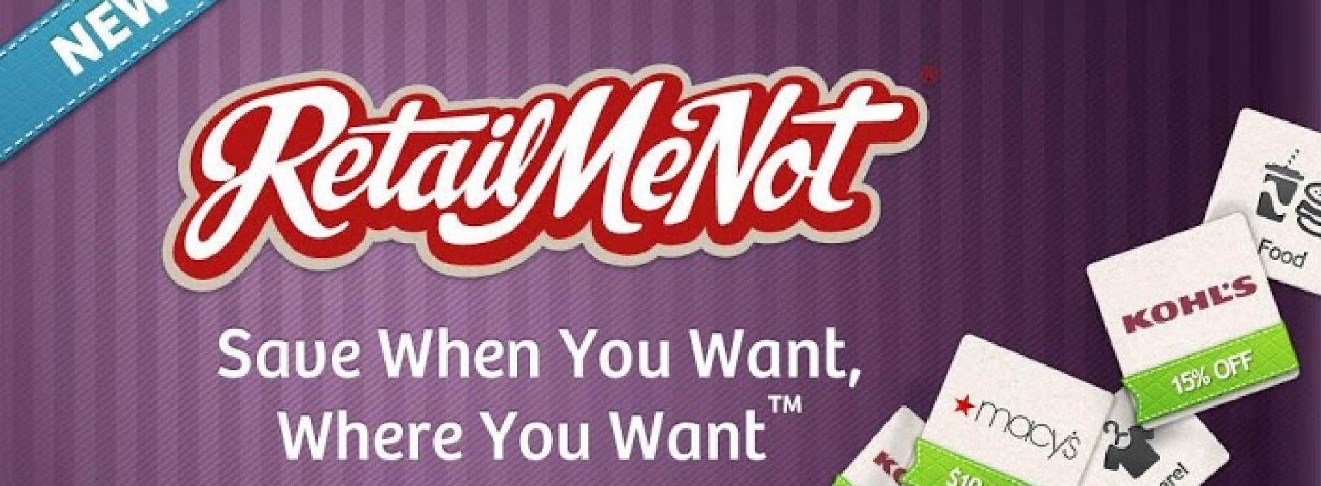 Updated RetailMeNot app includes location-based deals