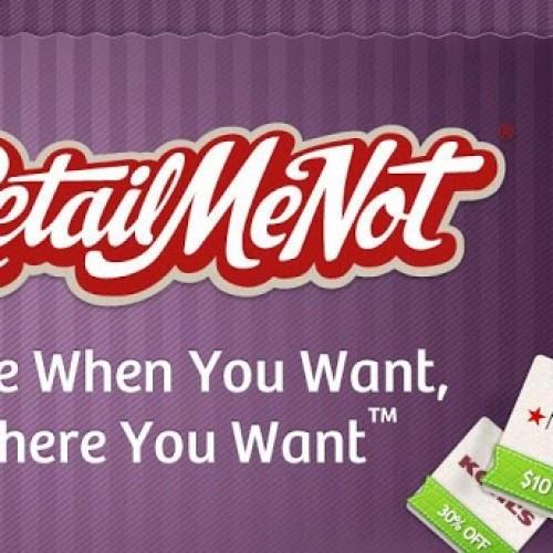 Updated RetailMeNot app includes location-based deals