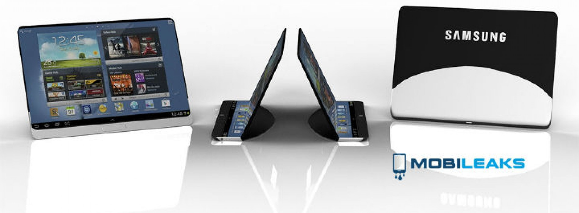 Rumored flexible Samsung tablet specs and images leaked