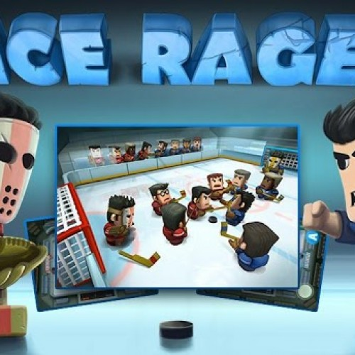 Ice Rage – A bear walks into a hockey rink…