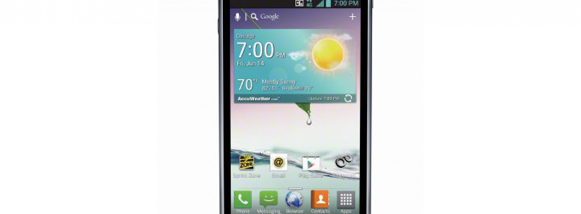 Sprint dials up LG Optimus F3 for visually impaired demographic