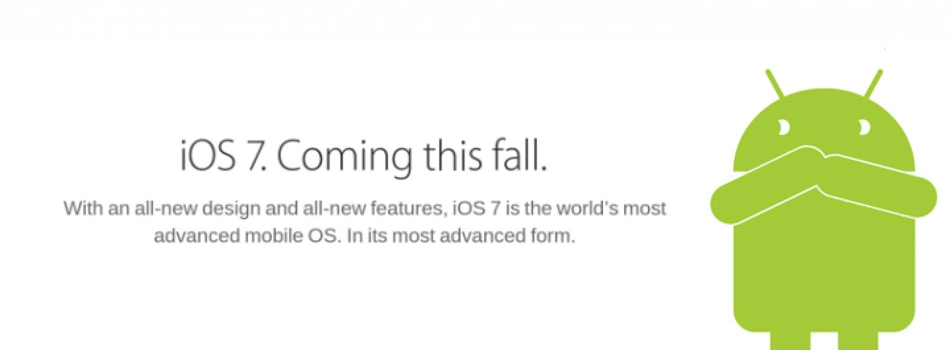 Why Android fans need to stop acting butthurt over iOS 7