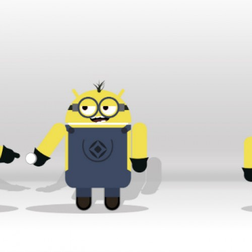 Bee-Do!  Grab these Despicable Me inspired Android minion wallpapers!