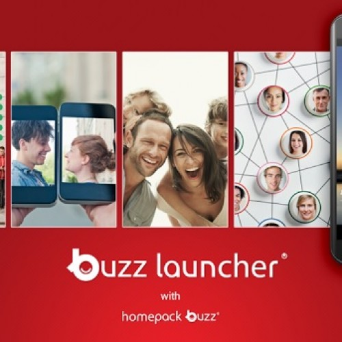 Homepack Buzz officially releases Buzz Launcher and announces design contest to celebrate