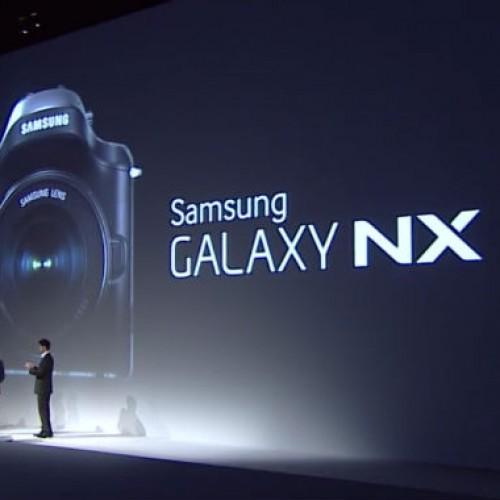 Samsung debuts 20-megapixel Galaxy NX