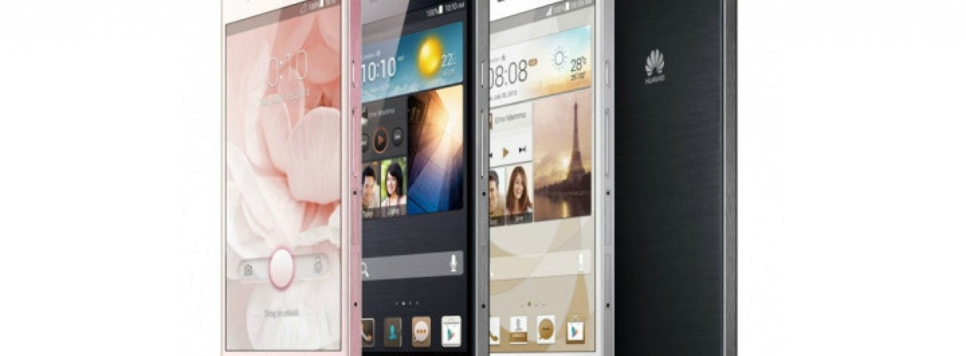 Huawei debuts world's thinnest smartphone, Ascend P6