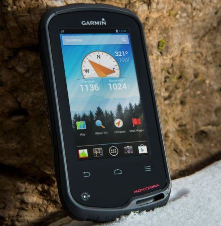 Garmin introduces Monterra; An Android powered GPS handheld