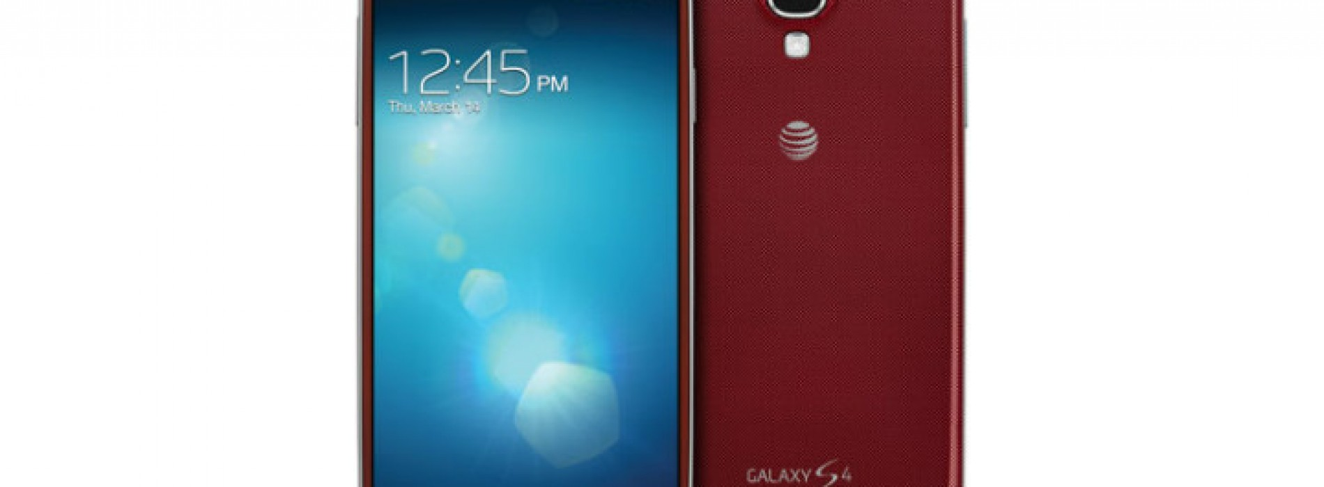 AT&T nabs exclusive 'Aurora Red' Samsung Galaxy S4
