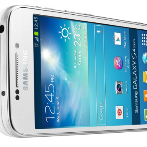 Samsung announces 16-megapixel Galaxy S4 Zoom