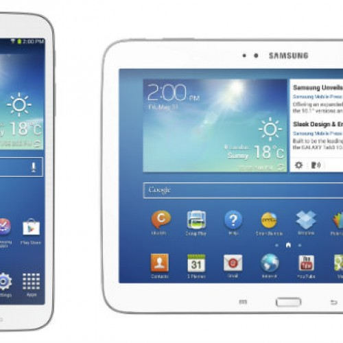 Samsung unveils Galaxy Tab 3 8.0 and Galaxy Tab 3 10.1