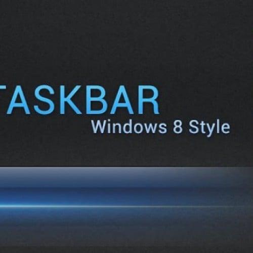 Taskbar W8 – A Start button for Android