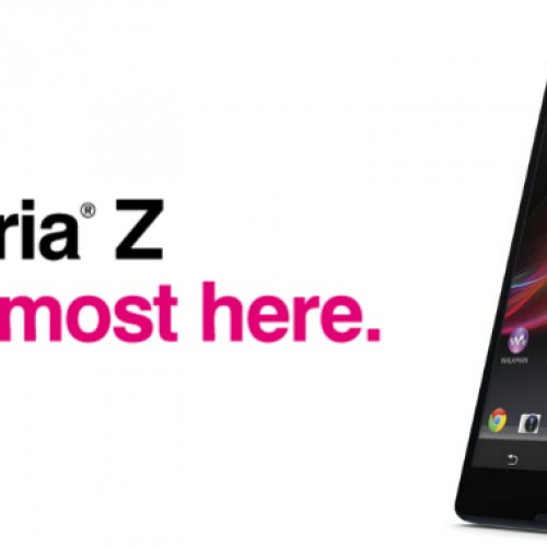 Sony Xperia Z now available for pre-order through T-Mobile