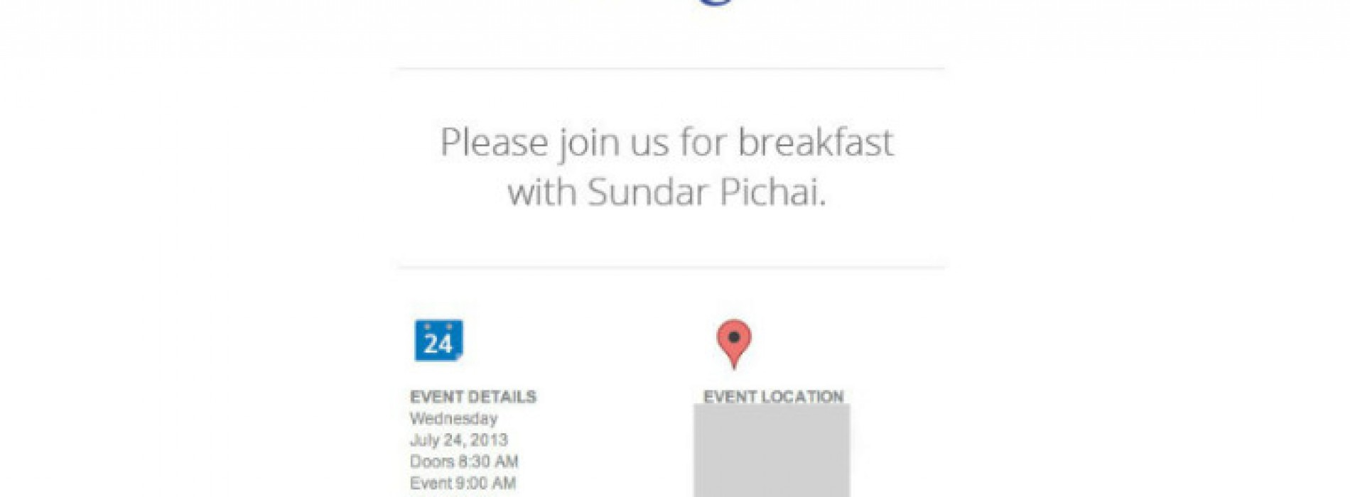 Google schedules Android-related event for July 24