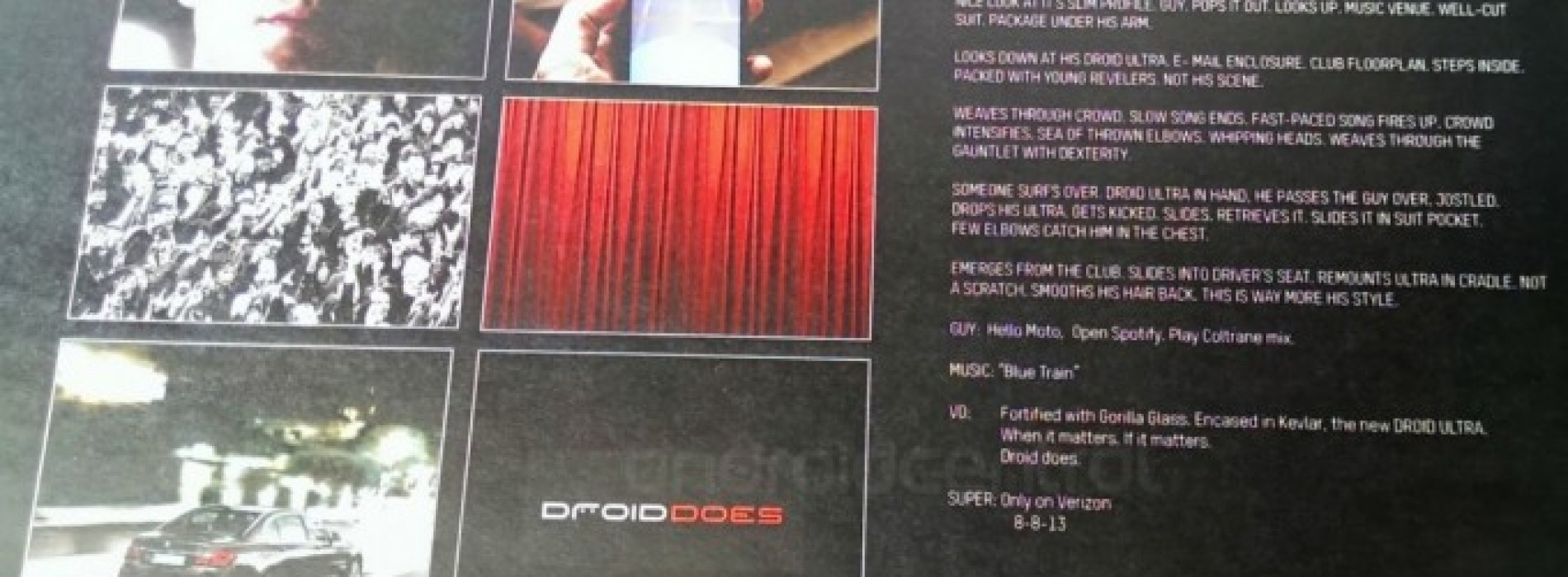 Droid Ultra tipped to arrive on August 8