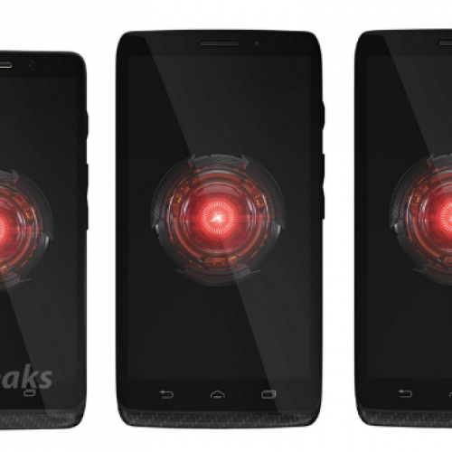 Upcoming Droid series poses for family portrait