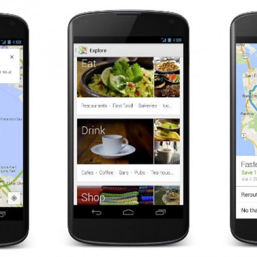 Updated Google Maps comes to Android phones and tablets