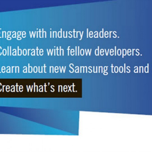 Samsung schedules first developer conference for October 27