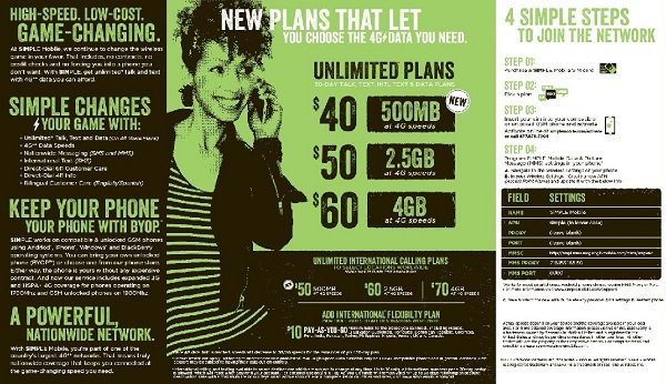 simple mobile plans summer 2013