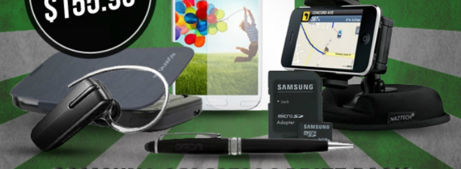 Win a Samsung Galaxy S4 accessory bundle worth $155