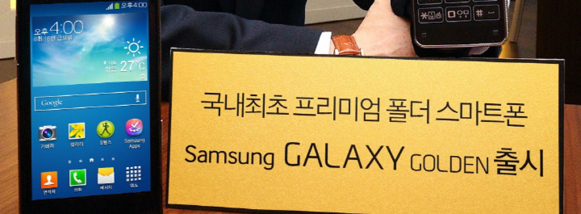 Samsung debuts Galaxy Golden flip phone for Korea