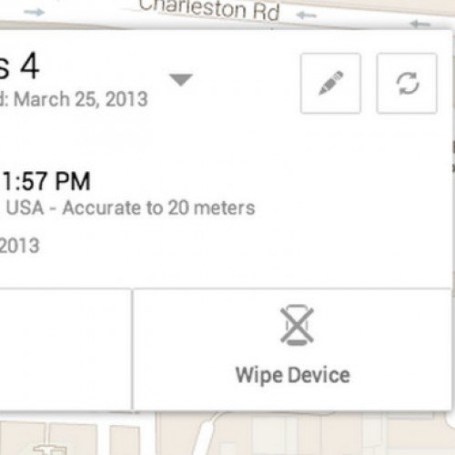 Google introduces Android Device Manager