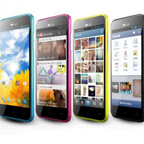 BLU Products intros three ultra-affordable Dash devices