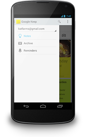 google_keep_4-nav drawer
