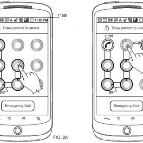 Google patent will unlock device into apps using patterns