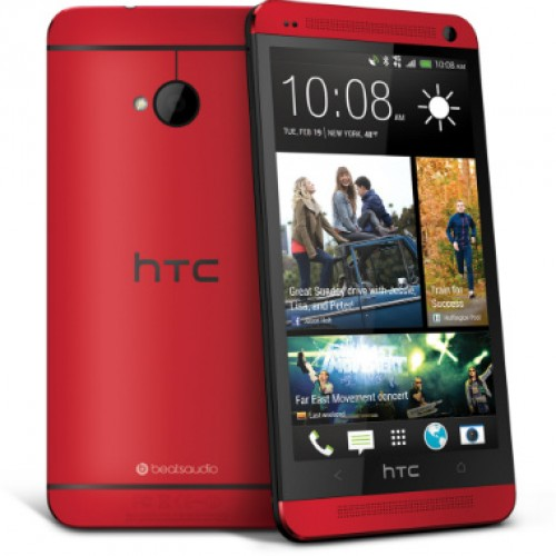 Sprint scores exclusive red version of HTC One