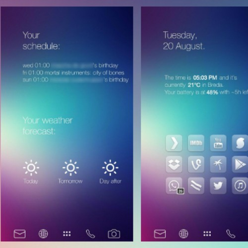 Get This Look: iOS7 inspired