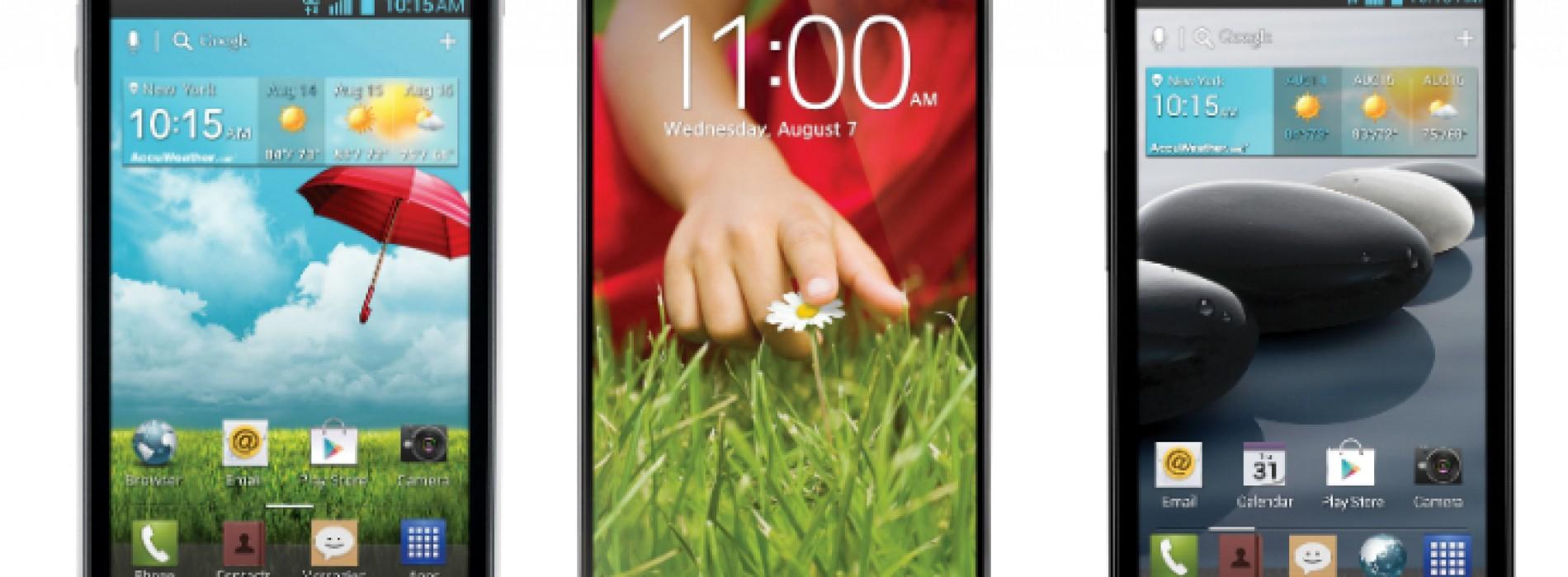 T-Mobile debuts three new LG smartphones