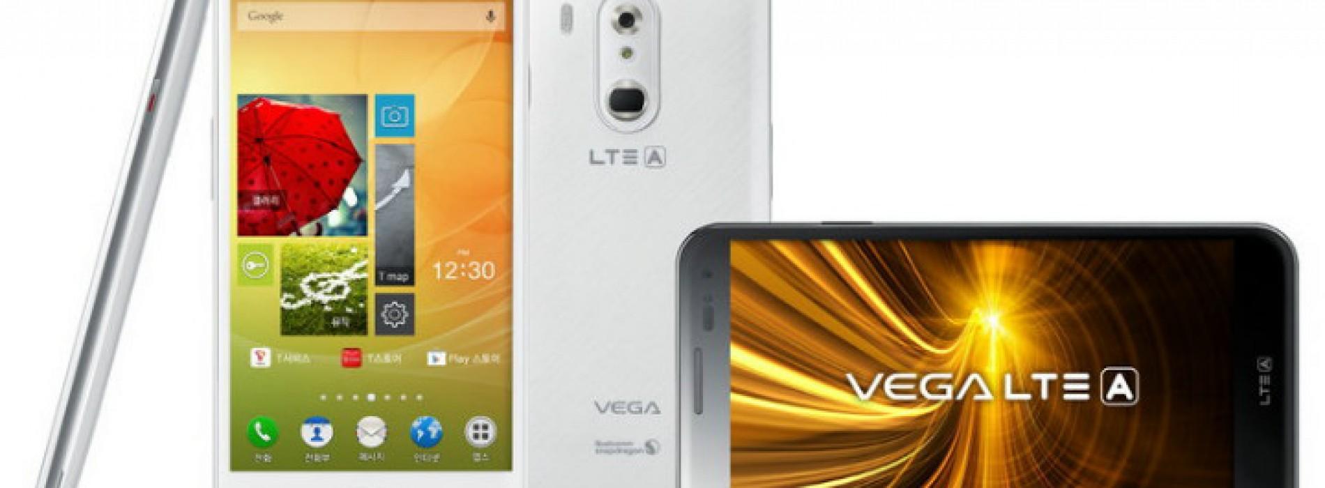 Pantech debuts Vega LTE-A IM-A880S for South Korea