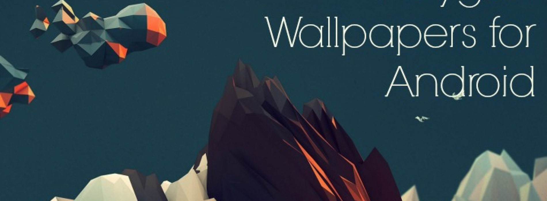24 very cool wallpapers for your Android (Polygon Art)