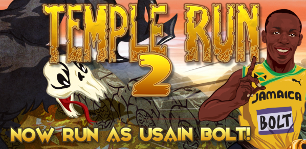 Usain Bolt is now a playable character in Temple Run 2