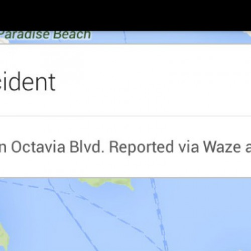 Google Maps for Android to get Waze's real time incident reports