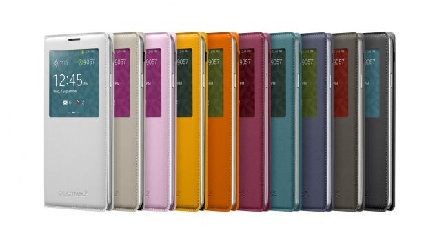 Galaxy Note3 S-view Cover_005_Front set