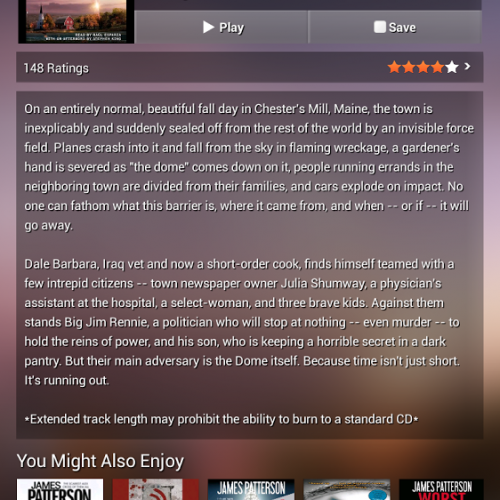 Audiobooks.com app updated with refeshed UI and enhancements