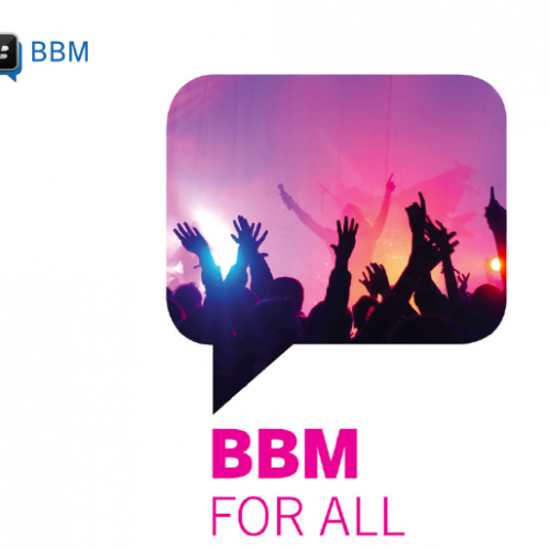 BlackBerry Messenger finally arrives this coming weekend