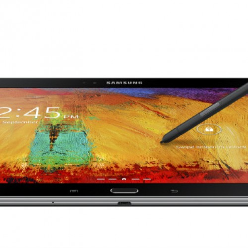 Samsung unpacks Galaxy Note 10.1 (2014) in Berlin