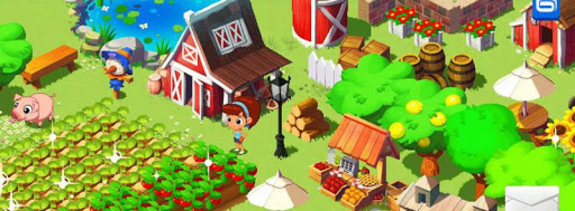 "Gameloft's Green Farm 3 intros new line of ""lighter"" games"