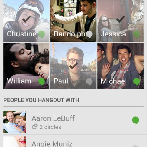 Google Hangouts updated with improved layout and subtle enhancements